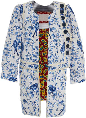 Bohemia Alix of Limited Edition Birdsong Floral Coat