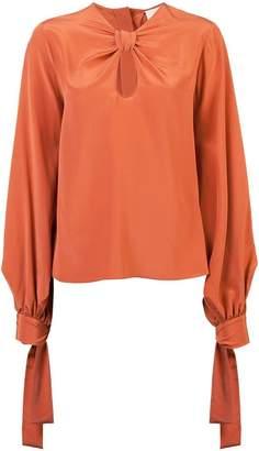 Roksanda keyhole relaxed fit blouse