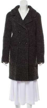 Liebeskind Berlin Double-Breasted Wool Coat