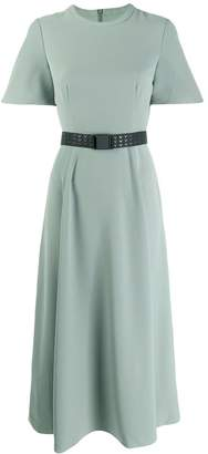 Emporio Armani flared belted dress
