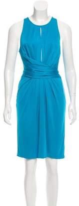 Issa Silk Tie-Accented Dress