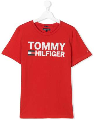 Tommy Hilfiger Junior TEEN logo printed T-shirt