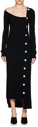 Ji Oh Women's Wool-Cashmere Asymmetric Cardigan Dress