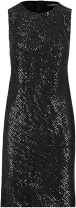 Ralph Lauren Sequinned Sleeveless Dress