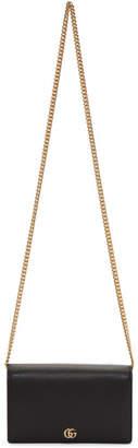 Gucci Black Small Marmont Shoulder Bag