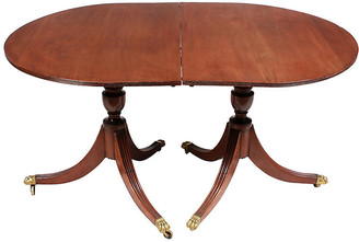 One Kings Lane Vintage Mid-Century Duncan Phyfe Dining Table - Blink Home Vintique