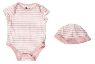 7 For All Mankind Girls' Striped All-In-One