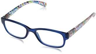 Sight Station Women's Makayla 1016321-100.COM Square Reading Glasses