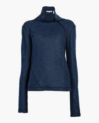Helmut Lang Mohair Turtleneck Sweater