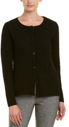 Lafayette 148 New York Button-Front Cardigan