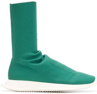 Rick Owens elasticated mid calf trainers