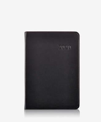 GiGi New York 2020 Daily Journal, Black Traditional Leather