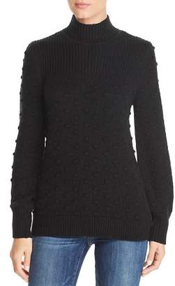 Calvin Klein Popcorn Knit Mock Neck Sweater