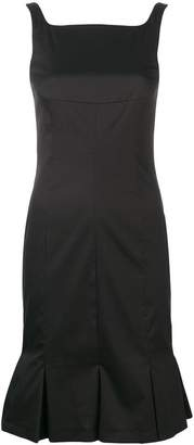 Karl Lagerfeld pleated hem dress