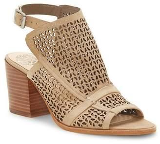 Vince Camuto Lendia Perforated Heeled Sandal