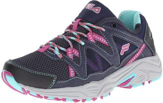 Fila Women's Vitality V Running Shoe, Navy/Aruba Blue/Fuchsia