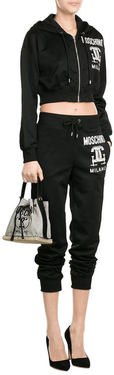 MoschinoMoschino Shoulder Bag with Leather