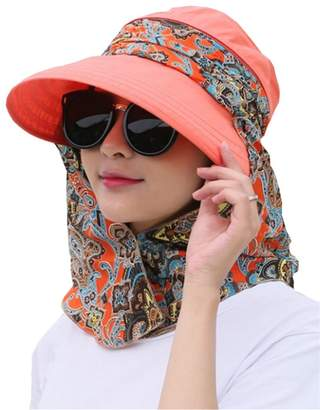 DAY Birger et Mikkelsen Elufly Mother's Gift-3 in 1 Wide Brim Foldable UV Protection Beach Flap Sun Hat