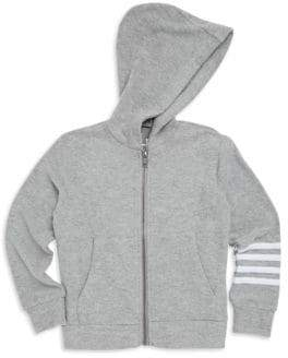Chaser Little Boy's& Boy's Zip-Up Stripe Hoodie