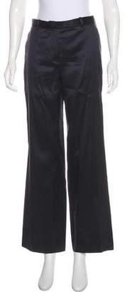 Armani Collezioni Mid-Rise Striped Pants
