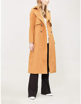 BA&SH Cleder double-breasted stretch-cotton trench coat
