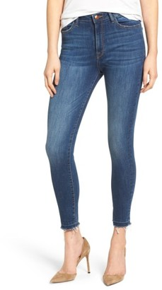 Women's Dl1961 Chrissy Trimtone High Rise Ankle Skinny Jeans $188 thestylecure.com