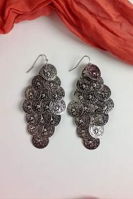 Ghome2 Silver Coin Earrings