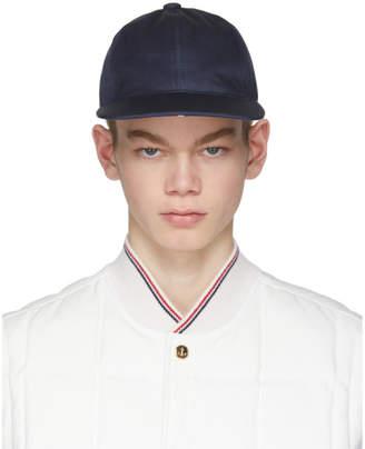 Thom Browne Navy Baseball Cap