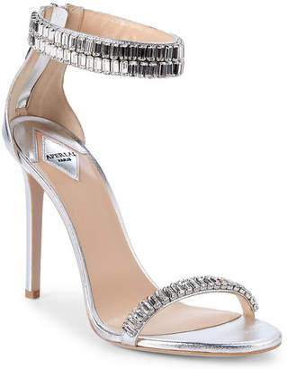 Aperlaï Saetia Embellished Leather Sandal