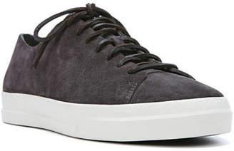 Vince Men's Copeland Raw-Edge Suede Low-Top Sneakers