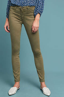AG Jeans The Abbey Sateen Mid-Rise Skinny Ankle Jeans