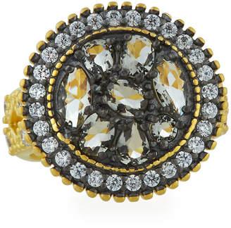 Freida Rothman Rose d'Or Round Pebble Ring, Size 6