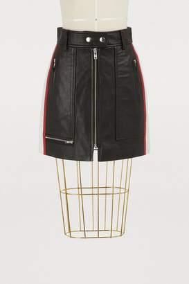 Etoile Isabel Marant Alynne leather shorts