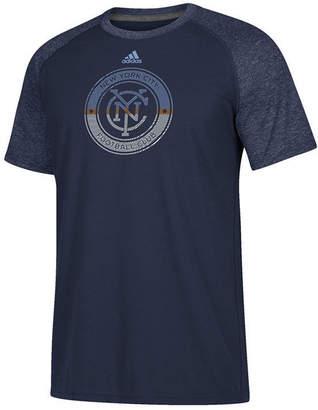 adidas Men's New York City Fc Redirection Logo T-Shirt