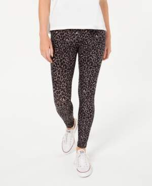 Hippie Rose Juniors' Printed High-Waist Leggings