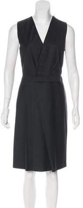 Cacharel Virgin Wool Knee-Length Dress