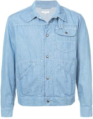 Engineered Garments stitch detail shirt jacket