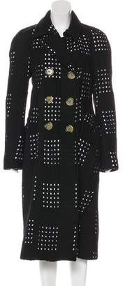 Victoria Beckham Cutout Wool Coat