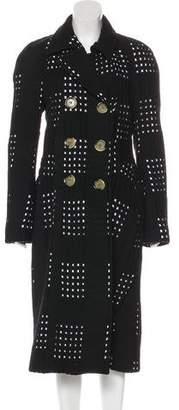 Victoria Beckham Cutout Wool Coat
