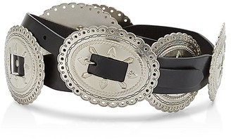 Rebecca Minkoff Metal Conchos Belt $78 thestylecure.com