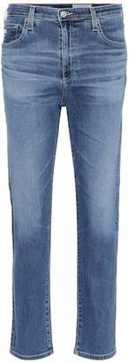 AG Jeans The Isabelle straight cropped jeans