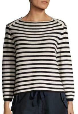 Vince Striped Knit Pullover