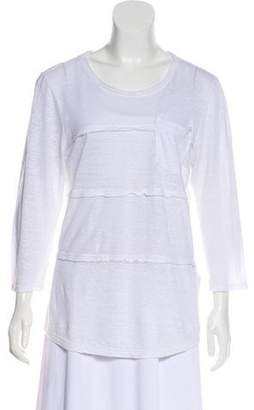 Marc by Marc Jacobs Linen Paneled Blouse