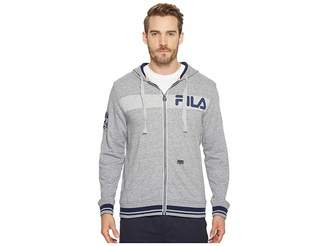 Fila Locker Room Zip-Up Hoodie Men's Sweatshirt