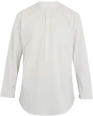 Oliver Spencer Panarea striped-cotton shirt