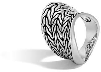 John Hardy Wave Saddle Ring