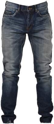Saint Laurent Blue Skinny Délavé Jeans