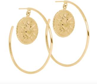 Ale Bremer Jewelry Corazon Large Hoops