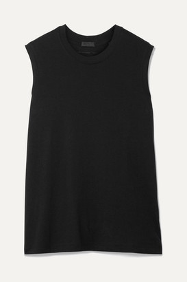 ATM Anthony Thomas Melillo Boy Cotton-jersey Tank - Black