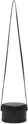 Hunting Season Black Mini Leather Trunk Bag